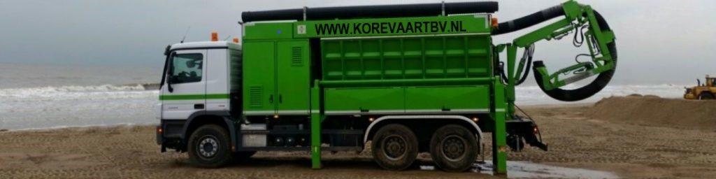 RSP grondzuigwagen, zuigwagen